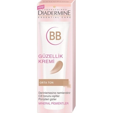Diadermine Essential Care BB Güzellik Kremi Orta Ton 50ml Renksiz
